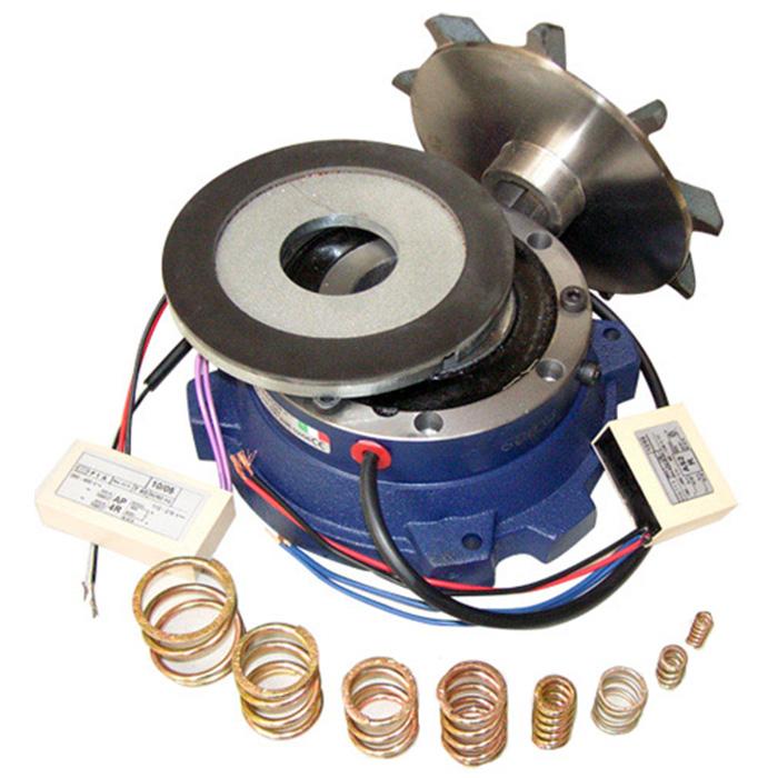 Freno per motore elettrico monofase