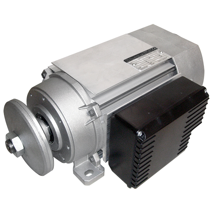 Motore elettrico monofase autofrenante