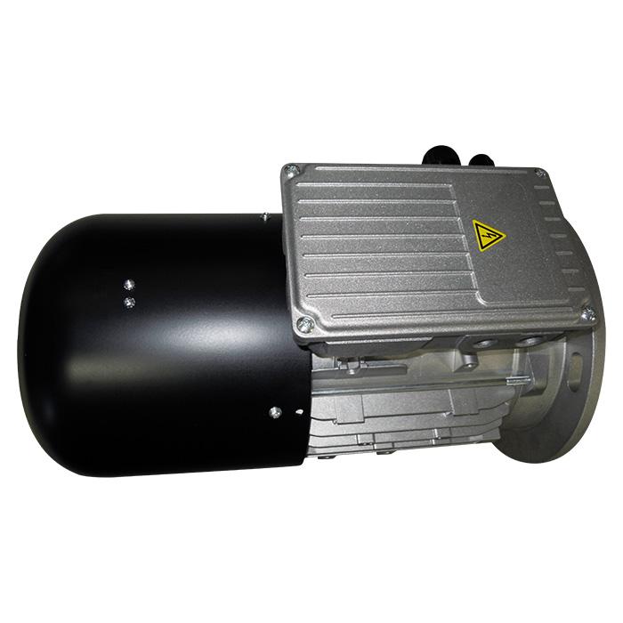 Motore elettrico servoventilato