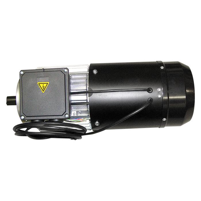 Motore elettrico servoventilato con freno ed encoder