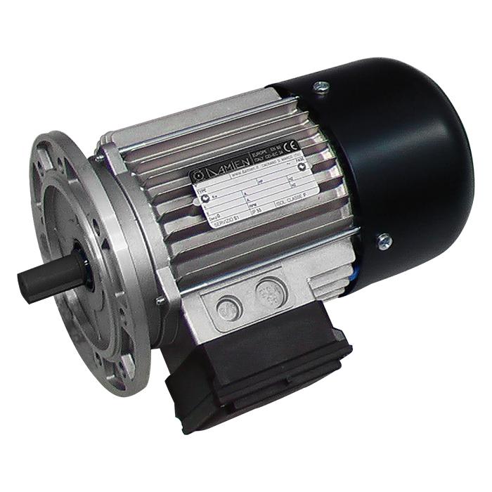 Motore elettrico trifase autofrenante con freno in C.C.