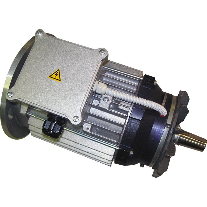 Motore elettrico trifase autofrenante