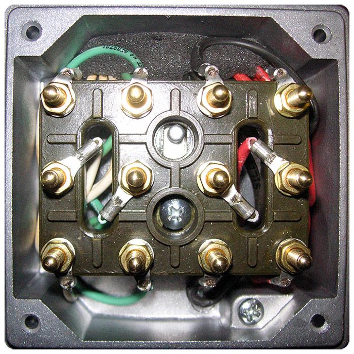 Morsettiera 12 poli motore elettrico serie TT-TV