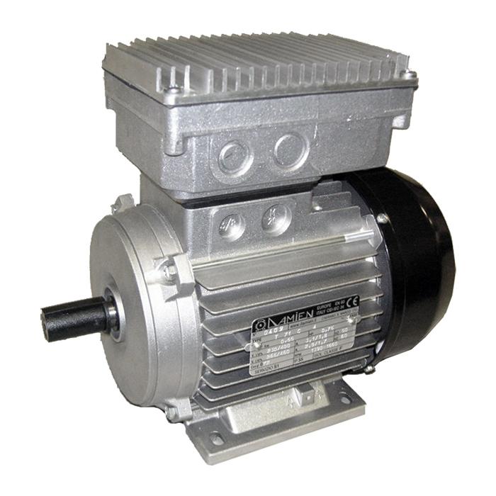 Motore elettrico MEC 71 B3 con inverter monofase a bordo