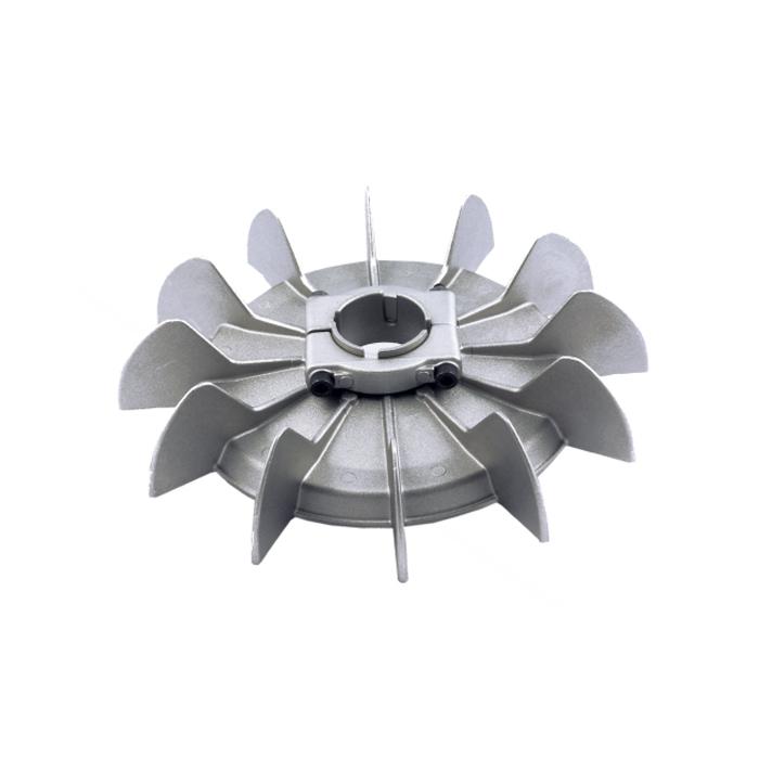 Ventola in alluminio