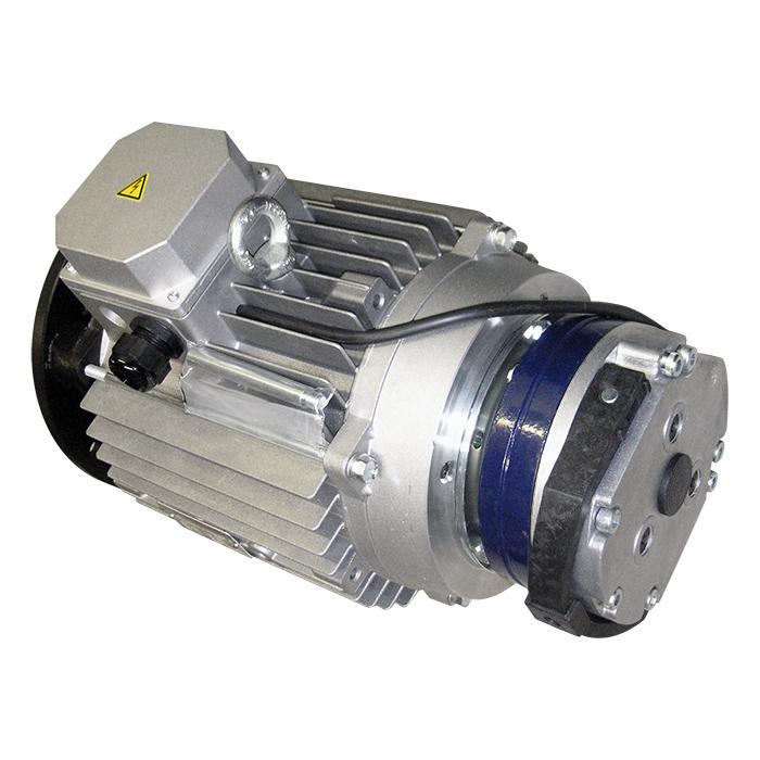 Motore elettrico trifase autofrenante corrente alternata